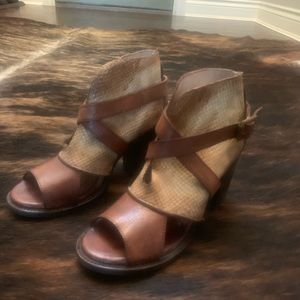 Freebird Bootie Sandals